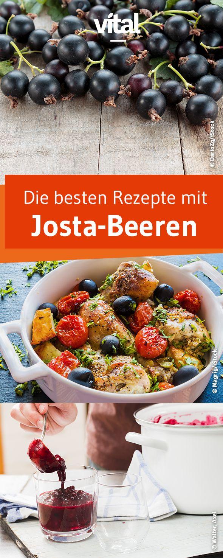 Die Jostabeere ist eine Kreuzung aus Johannisbeere und Stachelbeere und ist einzigartig im Geschmack. Wir haben die besten Rezepte für euch.