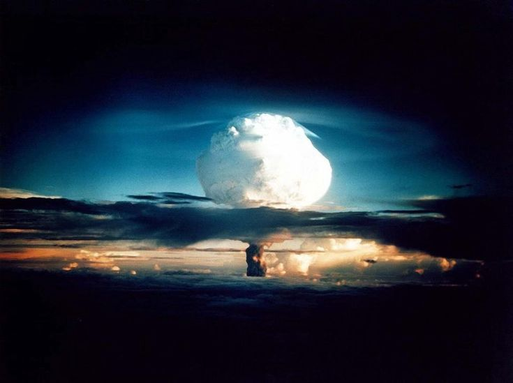 Science's Greatest Lesson For Humanity Is 'How To Be Wrong'  Nuclear weapon test Mike (yield 10.4 Mt) on Enewetak Atoll. The test was part of the Operation Ivy. Mike was the first hydrogen bomb ever tested.