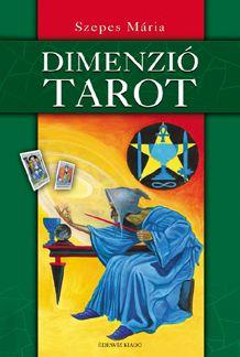 DIMENZIÓ TAROT: Szepes Mária előző tarot-könyvének, A TAROT BÖLCSESSÉGÉnek felújított és kibővített változata, amelynek érdekessége, hogy egy tarot-kártyacsomag is tartozik hozzá. A tarot szimbólumrendszer, kulcs az emberi önismerethez, rejtett bölcsességének hordozója, üzenet a távoli múltból.