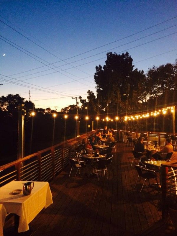 """135 Patios in Nashville: The Ultimate Restaurant Patio Guide  Eat some Italian under the stars at Pomodoro East. Part of the """"Best Patios in Nashville"""" list on StyleBlueprint.com"""
