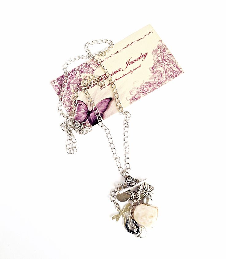 Long necklace handmade by FloFlorina Jewelry ( https://www.facebook.com/floflorina.jewelry )