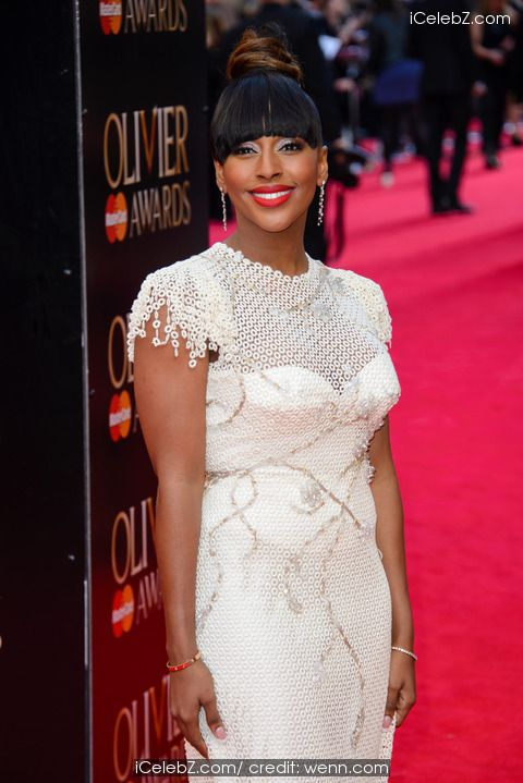 Alexandra Burke Olivier Awards 2014 held at the Royal Opera House http://icelebz.com/events/olivier_awards_2014_held_at_the_royal_opera_house/photo6.html
