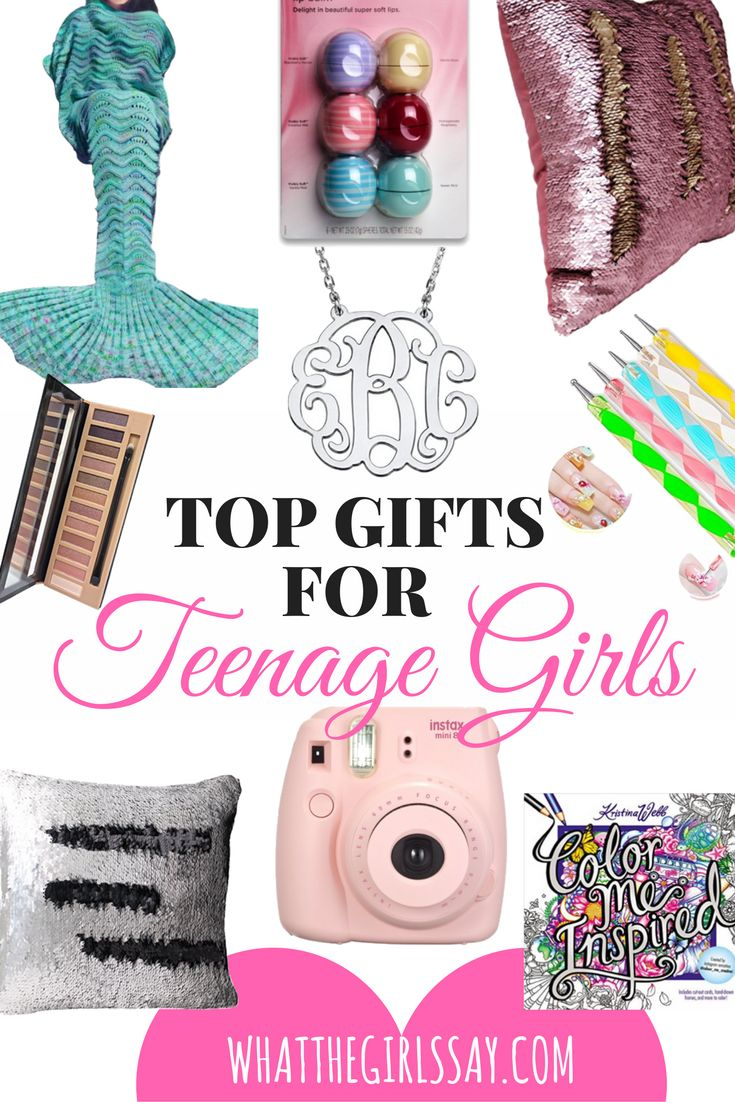Teenage Girls can be tough to shop for.  So we've rounded out the top gifts we recommend getting a teenage girl, all specially picked by a teenage girl! We can add this gift to so many categories, because these pillows are AMAZING! We ran into them a little while ago, and everyone loved them right away.  Not only is it a fun, Decorative Throw Pillow, but its a fun, create-your-own art pillow too! The minute we got ours, we could not put it down.  Super entertaining.