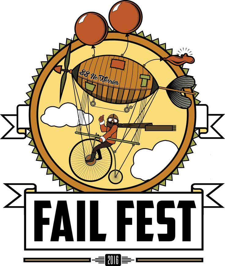 FailFest 2016 Blog design, Vintage logo design, Non profit