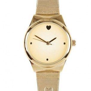Świetny, złoty zegarek - gold watch