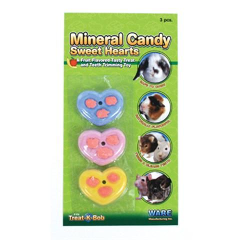 Ware Manufacturing Mineral Candy Sweet Hearts