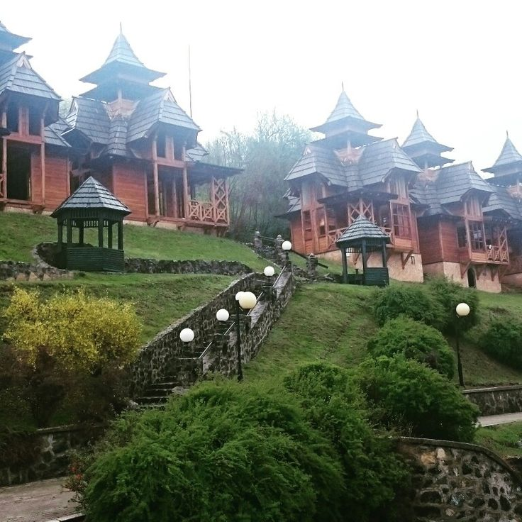 Mokra Gora in Western Serbia. Such an amazing place. #Serbia #woodenhouses