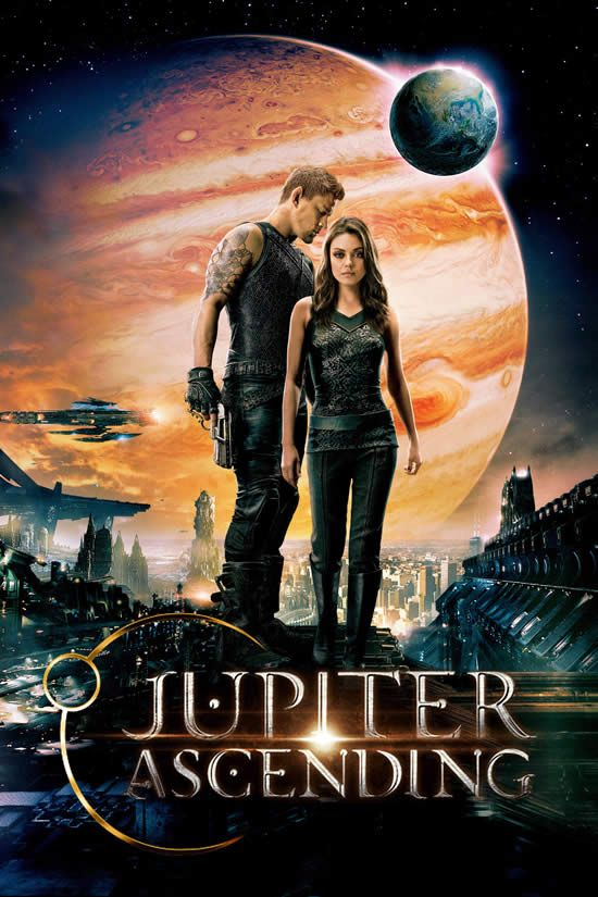 jWatch Trailer: Jupiter Ascending Starring Channing Tatum, Mila Kunis - In a universe where humans are near the bottom of the evolutionary ladder, a young destitute human woman is targeted for assassination by the Queen of the Universe. Release Date: Feb. 6, 2015.