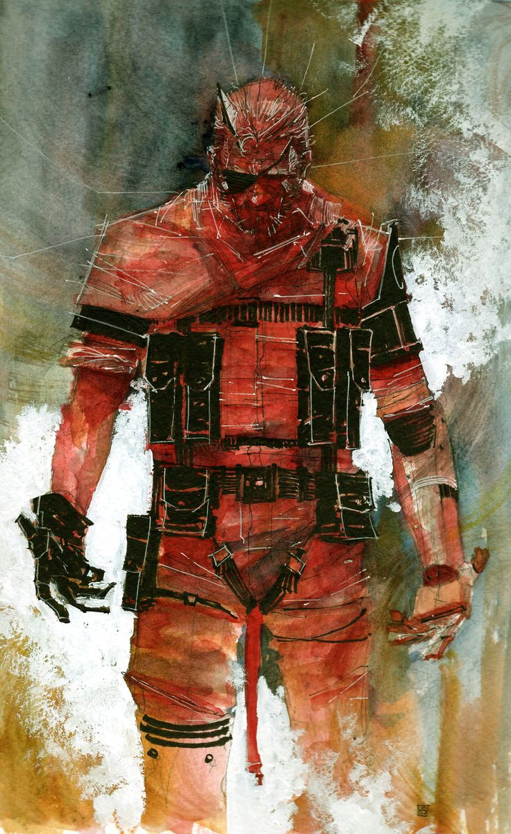 Metal Gear,mgs, Metal Gear Solid, ,фэндомы,Venom Snake,The Punished Snake (MGS),The Phantom Pain,Metal Gear Art,Metal Gear Solid