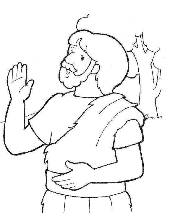 coloring pages john the baptist - photo#31