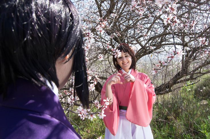 Character: Chizuru Yukimura  Anime: Hakuouki  Cosplayer: Rydia