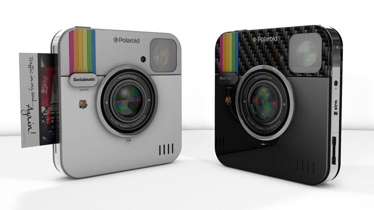 Polaroid le pone precio a la Socialmatic, su cámara inspirada en Instagram