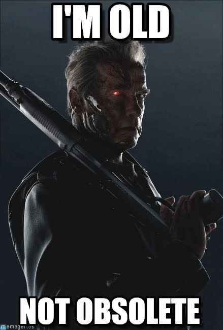 Terminator Genesys : I'm Old, Not Obsolete - by Anonymous ...
