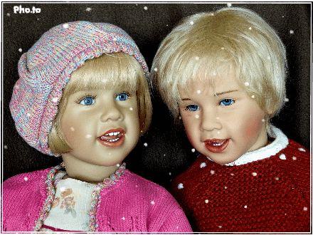 OLA & FLORA от Sissel Bjorstadt Skille / Куклы Gotz - коллекционные и игровые Готц / Бэйбики. Куклы фото. Одежда для кукол