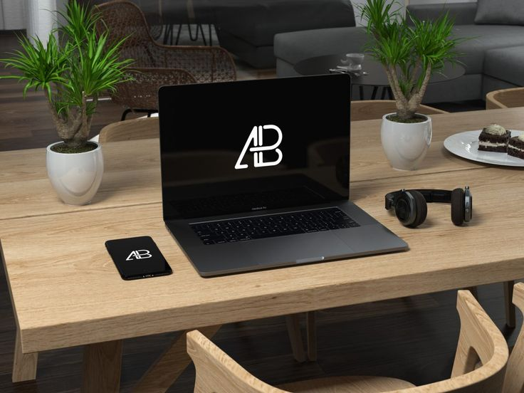 Todays Freebie Is Another Macbook Pro 2016 Mockup Created By Anthony Boyd Graphics This Scene