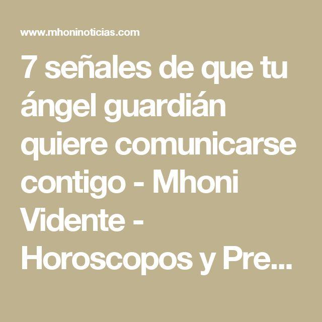 7 señales de que tu ángel guardián quiere comunicarse contigo - Mhoni Vidente - Horoscopos y Predicciones