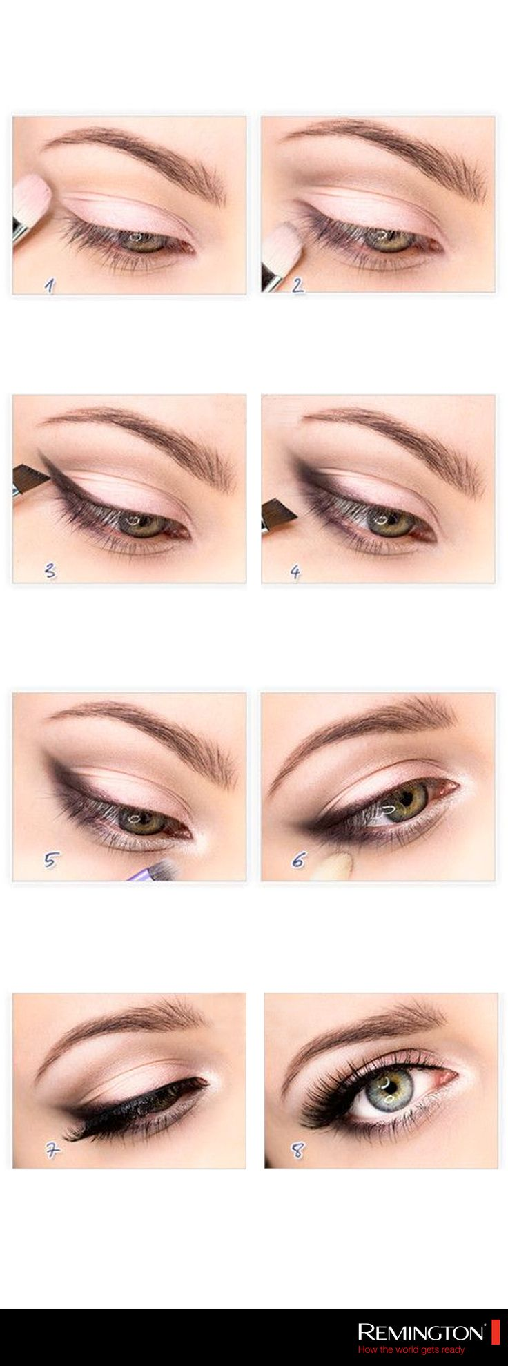 Si tienes ojos pequeños este DIY es para ti, pues te ayudará a abrir tu mirada y dar la apariencia de que tus ojos son más grandes. #makeup #DIY #love #woman #style #trendy