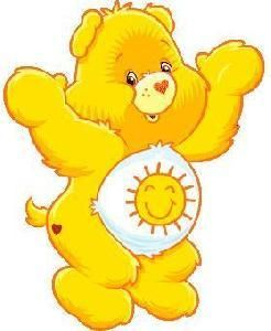Was always my favorite....sunshine care bear