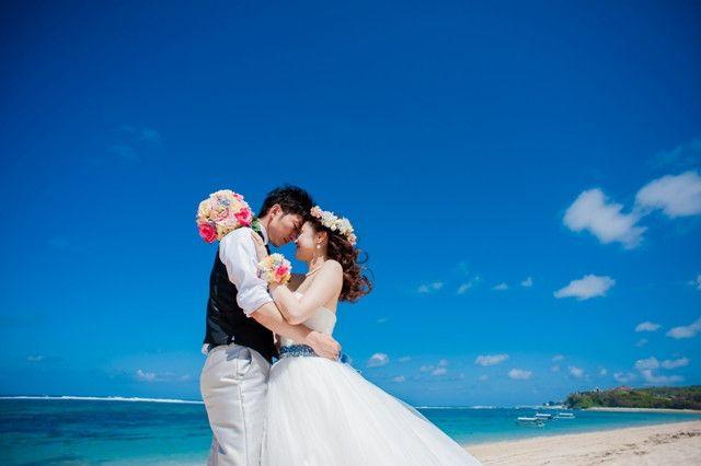 ハワイウェディングのビーチフォトが届きました☆ の画像|Ordermade Wedding Flower Item MY FLOWER ♪ まゆこのブログ