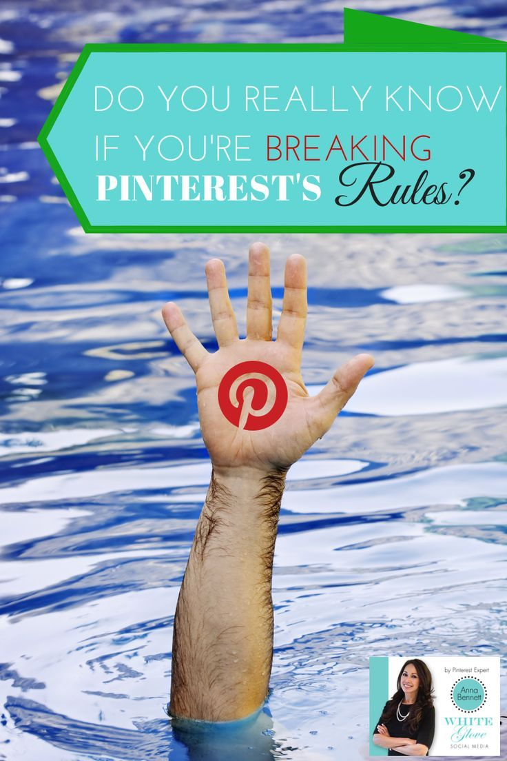 """#PinterestExpert shares """"Do you really know if you�re breaking Pinterest�s rules?"""" Serious consequences if you are� PLUS CHECK OUT THE LATEST PINTEREST NEWS 2014 here  http://www.whiteglovesocialmedia.com/pinterest-consultant-really-know-youre-breaking-pinterests-rules-serious-consequences/ #PinterestForBusiness #PinterestTips"""