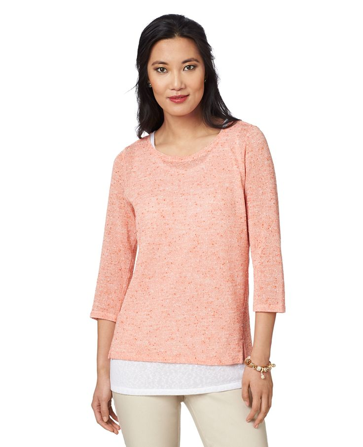 Northern Reflections - Textured Fooler Blouse, $59.99 (http://www.northernreflections.com/textured-fooler-blouse-451450869/)