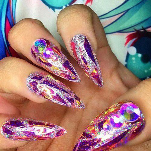 Crazy Nail Art Designs: Best 25+ Crazy Nails Ideas On Pinterest