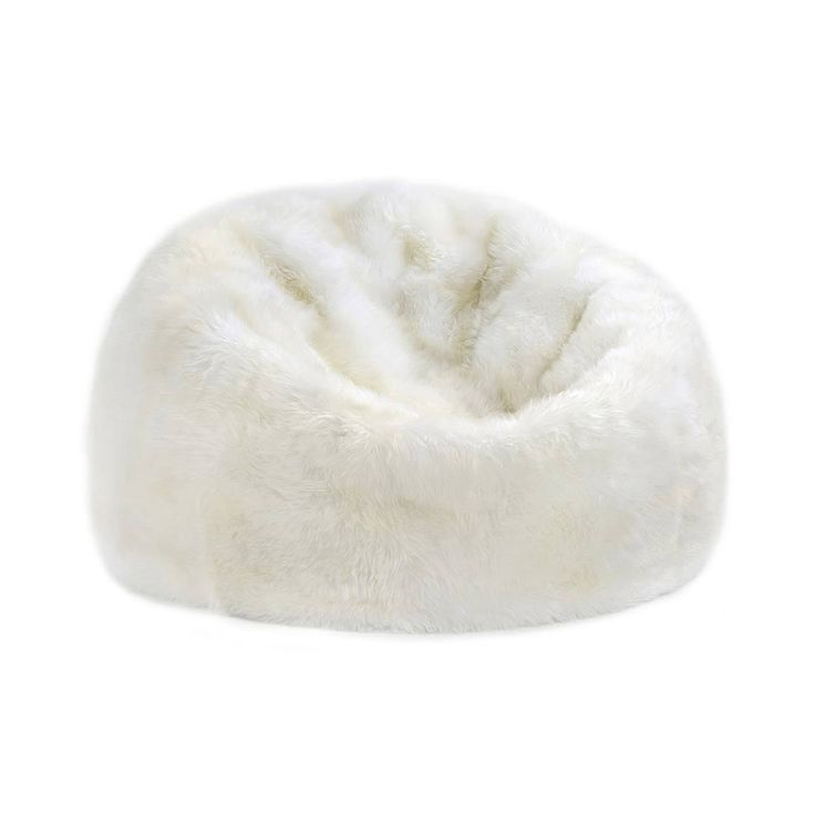 Bean bag chairs aren't just for dorm rooms anymore. Classy but comfortable, this sheepskin covered gem is the ideal place to relax in your pajamas or snuggle with your sweetheart.  Find the Lap of Luxury Sheepskin Bean Bag, as seen in the A Rustic Home for the Holidays Collection at http://dotandbo.com/collections/styleyourseason-a-rustic-home-for-the-holidays?utm_source=pinterest&utm_medium=organic&db_sku=107030