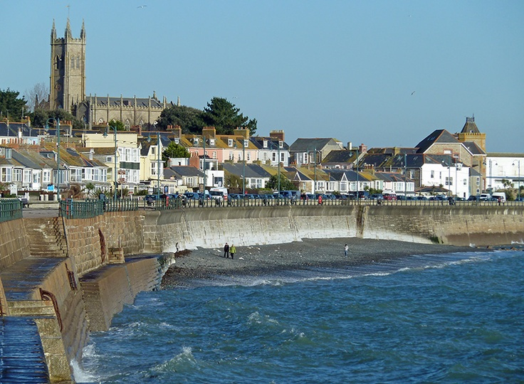 Penzance, Cornwall..  Feb, 2012