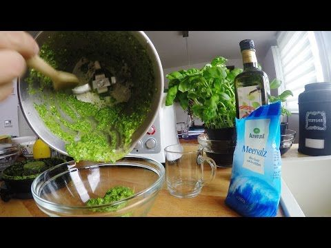 Basilikum-Pesto herstellen - Test | Küchenmaschine mit Kochfunktion | Aldi Süd - studio Mixer - YouTube