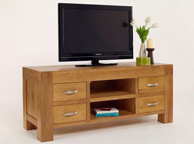 Cambridge Blonde Oak TV Unit - http://www.solidoakfurniture.co.uk/ranges/cambridge-blonde-oak/cambridge-blonde-oak-tv-unit.html