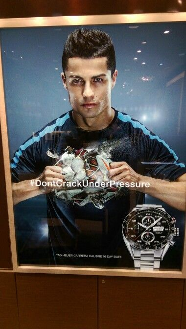 Christian Ronaldo tag heuer carrera