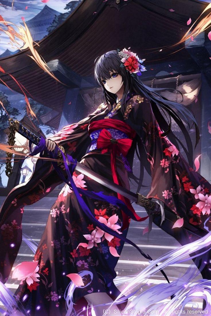 Best 25 anime warrior ideas on pinterest anime art - Anime female warrior ...