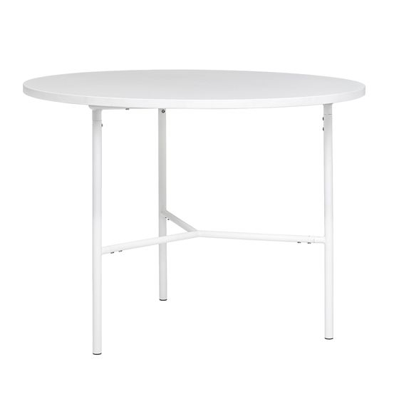 Type Dining Table Melamine, White