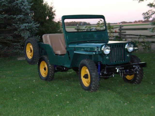 Willys Jeep for Sale 1950 CJ3A Willy's Farm Jeep | Jeeps