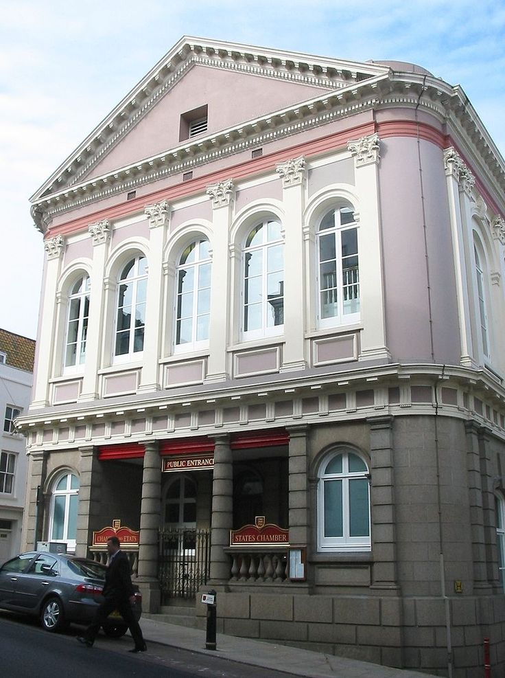 States Building in St Helier, Jersey