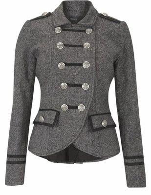 chaquetas corte militar mujer - Buscar con Google