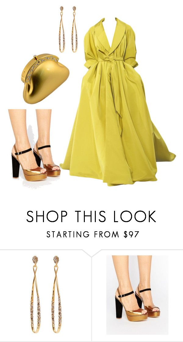 """""""Untitled #3782"""" by janicemckay ❤ liked on Polyvore featuring RALPH, Alexis Bittar, Terry de Havilland and Scheilan"""