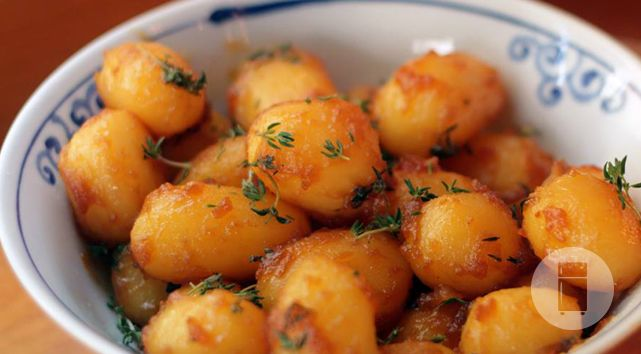 Batatas Carameladas Dinamarquesas do Gastronomismo