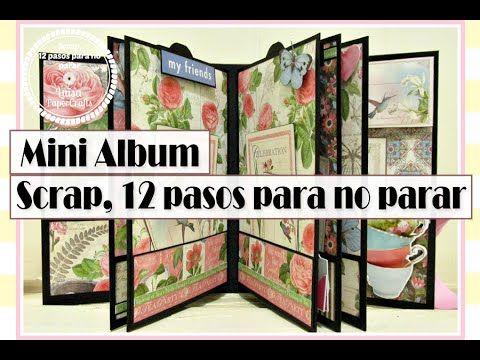 Mini Album, Reto 5 Scrap, 12 Pasos Para No Parar