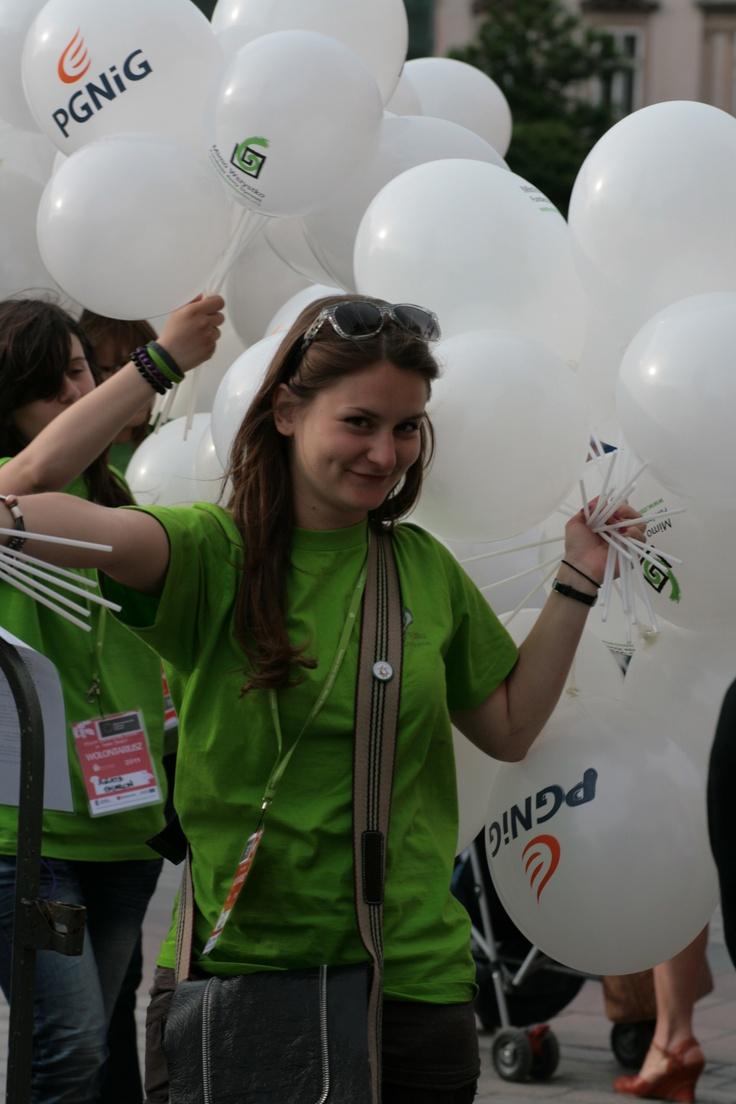 Wolontariuszka Asia - niezastąpiona w każdej sytuacji :)  #Kraków