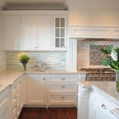 White Backsplash Design Pictures Remodel Decor And Ideas Page 3
