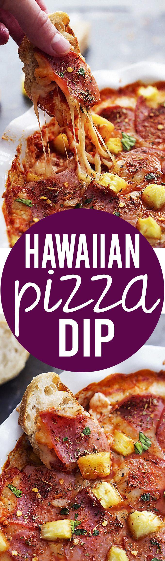 Hawaiian Pizza Dip | Creme de la Crumb