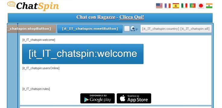 Chatroulette è dove si possono incontrare nuove persone e chattare a camma istantaneamente. Webcam chat con sconosciuti in tutto il mondo gratis! http://chatroulette.it/ #formoredetails