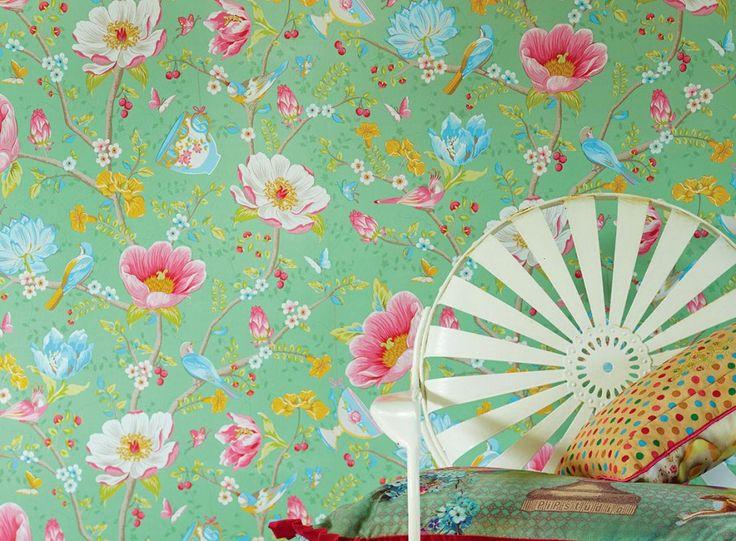 die besten 25 chinesische tapete ideen auf pinterest. Black Bedroom Furniture Sets. Home Design Ideas