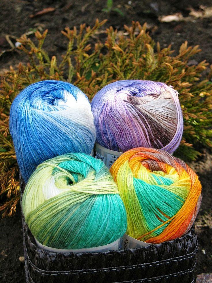 W Sklepie Zeberka 4 kolory włóczki Alize Bamboo fine BD  nr 4559, 4557, 4558, 1833