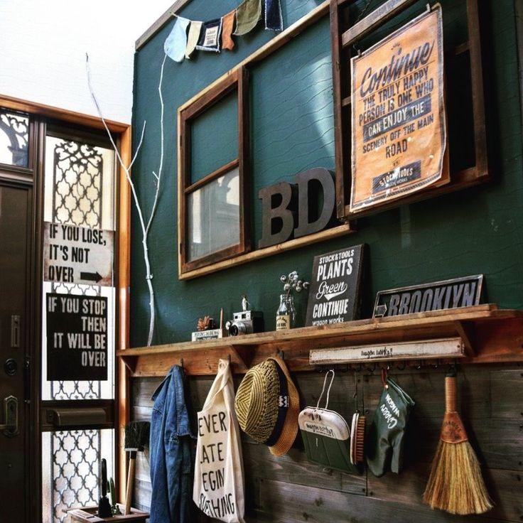 玄関はお家の顔!?現状回復できる剥がせる黒板壁紙で玄関をカフェ空間にリノベーション!☆|LIMIA (リミア)