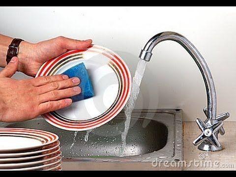 Jabón ecológico para platos, cacerolas, baños, etc. Homemade DIY cleanser EcoDaisy - YouTube