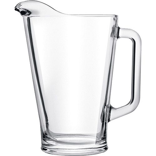 Crisa Glass Beer Pitcher, Clear  for ring dunk!