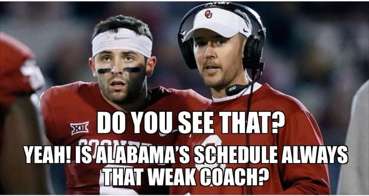 Wait till Bama plays OU in the football #finalfour!