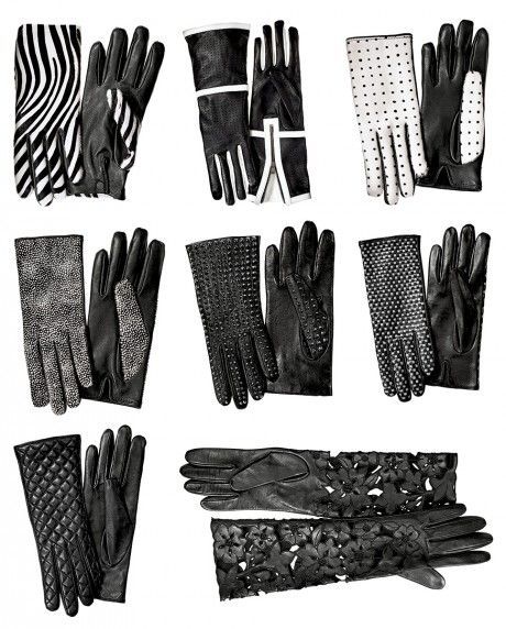 Gloves for every occasion & windblown New York street.